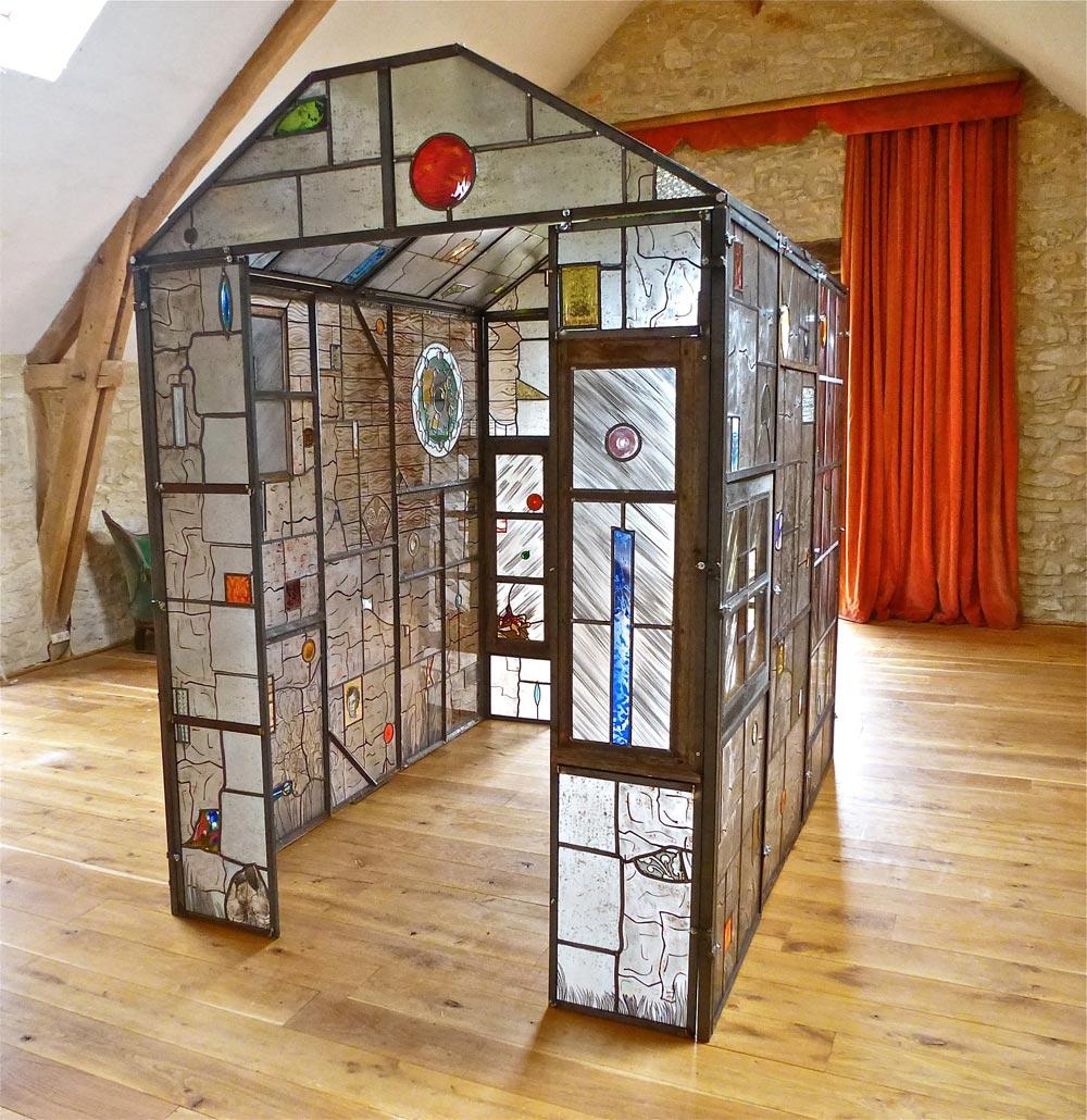 vitrail d 39 art contemporain leo amery vitraux sur commande stages. Black Bedroom Furniture Sets. Home Design Ideas